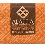 Alaffia Triple Milled Shea Butter Bar Soap Sandalwood Ylang Ylang -- 4 oz   Comprar Suplemento em Promoção Site Barato e Bom