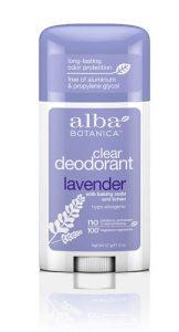 Alba Botanica™ Deodorant Stick Clear Lavender -- 2 oz   Comprar Suplemento em Promoção Site Barato e Bom