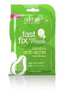 Alba Botanica™ Fast Fix Sheet Mask Papaya Anti-Acne -- 1 Mask   Comprar Suplemento em Promoção Site Barato e Bom