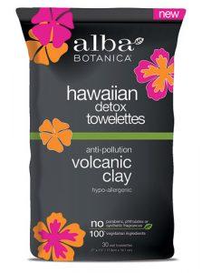 Alba Botanica™ Hawaiian Detox Towelettes Volcanic Clay -- 30 Wet Towelettes   Comprar Suplemento em Promoção Site Barato e Bom