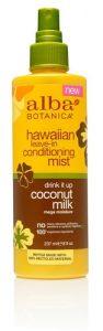 Alba Botanica® Hawaiian Leave In Conditioning Mist Coconut Milk -- 8 fl oz   Comprar Suplemento em Promoção Site Barato e Bom