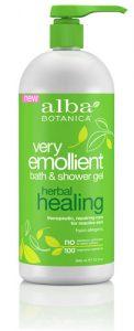 Alba Botanica™ Very Emollient Bath and Shower Gel Herbal Healing -- 32 fl oz   Comprar Suplemento em Promoção Site Barato e Bom