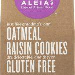 Aleia's Cookies Gluten Free Oatmeal Raisin -- 9 oz   Comprar Suplemento em Promoção Site Barato e Bom