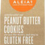 Aleia's Cookies Gluten Free Peanut Butter -- 9 oz   Comprar Suplemento em Promoção Site Barato e Bom