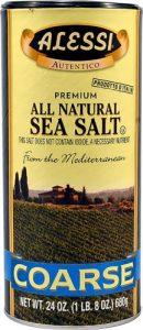 Alessi Premium All Natural Sea Salt Coarse -- 24 oz   Comprar Suplemento em Promoção Site Barato e Bom