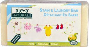Aleva Naturals Stain & Laundry Bar Fragrance Free -- 7.76 oz   Comprar Suplemento em Promoção Site Barato e Bom