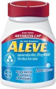 Aleve Easy Open Arthritis Cap Tablets -- 220 mg - 200 Tablets   Comprar Suplemento em Promoção Site Barato e Bom