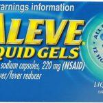 Aleve Liquid Gels -- 220 mg - 80 Liquid Gel Capsules   Comprar Suplemento em Promoção Site Barato e Bom