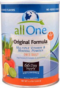 All One Nutritech Original Formula Multiple Vitamin and Mineral Powder -- 2.2 lbs   Comprar Suplemento em Promoção Site Barato e Bom