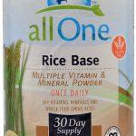 All One Nutritech Rice Base Multiple Vitamin and Mineral Powder Unflavored -- 15.9 oz   Comprar Suplemento em Promoção Site Barato e Bom