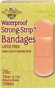 All Terrain Waterproof Strong Strip™ Bandages Latex Free -- 20 Bandages   Comprar Suplemento em Promoção Site Barato e Bom