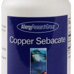 Allergy Research Group Copper Sebacate -- 75 Vegetarian Capsules   Comprar Suplemento em Promoção Site Barato e Bom
