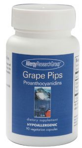 Allergy Research Group Grape Pips -- 90 Vegetarian Capsules   Comprar Suplemento em Promoção Site Barato e Bom