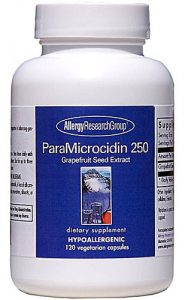 Allergy Research Group Paramicrocidin -- 250 mg - 120 Capsules   Comprar Suplemento em Promoção Site Barato e Bom