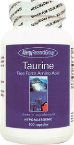 Allergy Research Group Taurine -- 500 mg - 100 Capsules   Comprar Suplemento em Promoção Site Barato e Bom