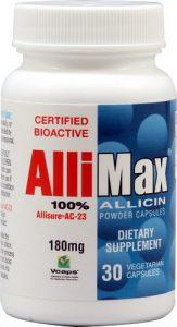 Allimax Allicin -- 30 Vegetarian Capsules   Comprar Suplemento em Promoção Site Barato e Bom