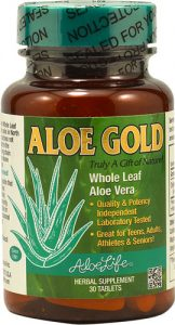 Aloe Life Aloe Gold -- 30 Tablets   Comprar Suplemento em Promoção Site Barato e Bom