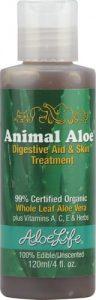 Aloe Life Animal Aloe Digestive Aid And Skin Treatment -- 4 fl oz   Comprar Suplemento em Promoção Site Barato e Bom