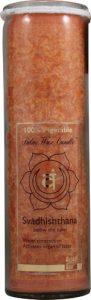 Aloha Bay Chakra Jar Love Svadhishthana Orange -- 1 Candle   Comprar Suplemento em Promoção Site Barato e Bom