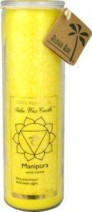 Aloha Bay Palm Wax Candle™ Manipura Yellow -- 1 Candle   Comprar Suplemento em Promoção Site Barato e Bom