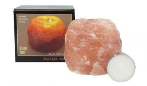 Aloha Bay Himalayan Salt Tea Light Holder -- 1 Candle   Comprar Suplemento em Promoção Site Barato e Bom