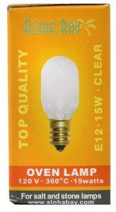 Aloha Bay Oven Lamp 120 V - 300° C - 15 watts -- 1 Bulb   Comprar Suplemento em Promoção Site Barato e Bom