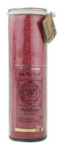Aloha Bay Palm Wax Candle™ Chakra Jar Muladhara Red -- 1 Candle   Comprar Suplemento em Promoção Site Barato e Bom