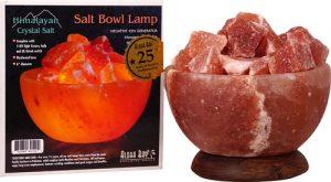 Aloha Bay Salt Bowl Lamp with Stones -- 1 Lamp   Comprar Suplemento em Promoção Site Barato e Bom