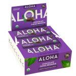 Aloha Organic Protein Bar Chocolate Fudge Brownie -- 12 Bars   Comprar Suplemento em Promoção Site Barato e Bom