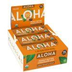 Aloha Organic Protein Bar Peanut Butter Chocolate Chip -- 12 Bars   Comprar Suplemento em Promoção Site Barato e Bom