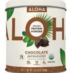Aloha Organic Protein Powder Chocolate -- 15 Servings   Comprar Suplemento em Promoção Site Barato e Bom