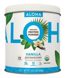 Aloha Organic Protein Powder Vanilla -- 15 Servings   Comprar Suplemento em Promoção Site Barato e Bom