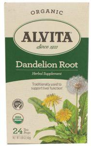 Alvita Organic Dandelion Root -- 24 Tea Bags   Comprar Suplemento em Promoção Site Barato e Bom