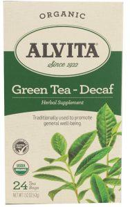 Alvita Organic Green Tea Decaf -- 24 Tea Bags   Comprar Suplemento em Promoção Site Barato e Bom