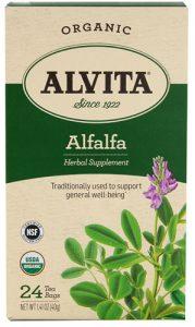 Alvita Organic Herbal Tea Alfalfa -- 24 Tea Bags   Comprar Suplemento em Promoção Site Barato e Bom