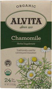 Alvita Organic Herbal Tea Caffeine Free Chamomile -- 24 Tea Bags   Comprar Suplemento em Promoção Site Barato e Bom