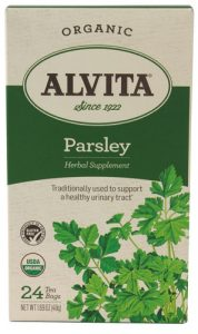 Alvita Organic Herbal Tea Caffeine Free Parsley -- 24 Tea Bags   Comprar Suplemento em Promoção Site Barato e Bom