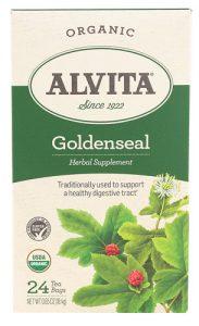 Alvita Organic Herbal Tea Goldenseal -- 24 Tea Bags   Comprar Suplemento em Promoção Site Barato e Bom