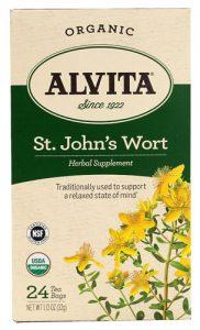 Alvita Organic Herbal Tea St. John's Wort -- 24 Tea Bags   Comprar Suplemento em Promoção Site Barato e Bom
