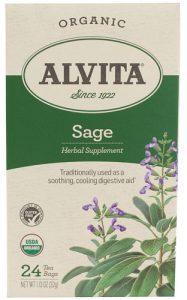 Alvita Organic Herbal Tea Sage -- 24 Tea Bags   Comprar Suplemento em Promoção Site Barato e Bom