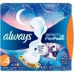 Always Infinity Overnight with FlexFoam -- 14 Pads   Comprar Suplemento em Promoção Site Barato e Bom