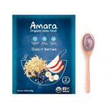 Amara Organic Baby Food Oats n' Berries -- 5 Pouches   Comprar Suplemento em Promoção Site Barato e Bom