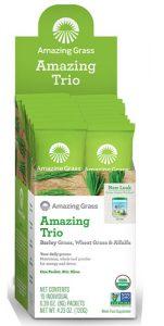 Amazing Grass Amazing Trio Powder -- 15 Packets   Comprar Suplemento em Promoção Site Barato e Bom