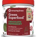 Amazing Grass Green SuperFood® All Natural Drink Powder Holiday Blends Chocolate Peppermint -- 8.5 oz   Comprar Suplemento em Promoção Site Barato e Bom