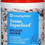 Amazing Grass Green SuperFood® All Natural Drink Powder Holiday Blends Holiday Cookie -- 7.4 oz   Comprar Suplemento em Promoção Site Barato e Bom