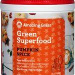Amazing Grass Green SuperFood® All Natural Drink Powder Holiday Blends Pumpkin Spice -- 8.5 oz   Comprar Suplemento em Promoção Site Barato e Bom