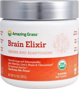 Amazing Grass Organic Brain Elixir -- 20 Servings   Comprar Suplemento em Promoção Site Barato e Bom
