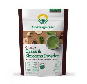 Amazing Grass Organic Grass & Shrooms Powder -- 30 Servings   Comprar Suplemento em Promoção Site Barato e Bom