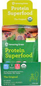 Amazing Grass Protein Superfood Original -- 10 Packets   Comprar Suplemento em Promoção Site Barato e Bom