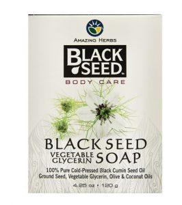 Amazing Herbs Black Seed Vegetable Glycerin Soap -- 4.25 oz   Comprar Suplemento em Promoção Site Barato e Bom